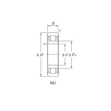NU3216 KOYO Cylindrical Roller Bearings