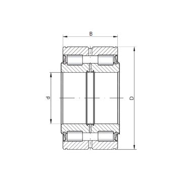 NNF5048X V CX Cylindrical Roller Bearings
